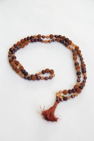 """Be here and now"" Earth Mala"