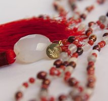 """Yoga-chitta-vritti-nirodha"" Mala (Yoga-calms-the-mind Mala)"
