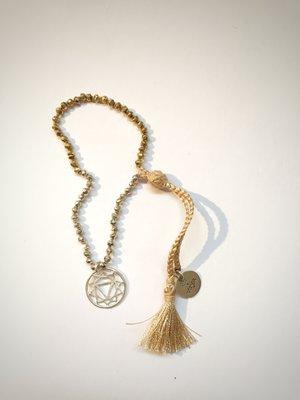 Pearl Chakra Bracelet - Silver