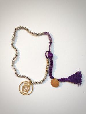 Pearl Chakra Bracelet - Gold